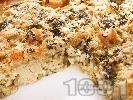 Рецепта Запеканка  от карфиол с ориз, спанак и сирене пармезан на фурна